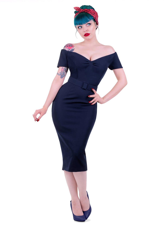Vintage 50s Pencil Dress