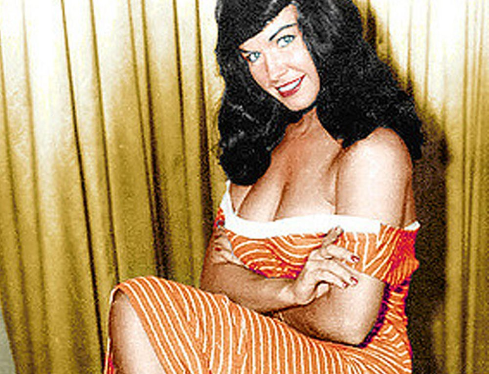Bettie Page, pin-up queen
