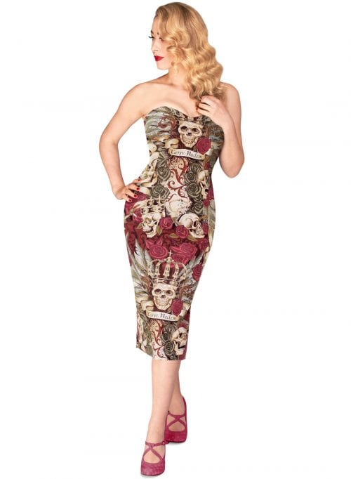 Britsh Retro Vintage Pencil Dress