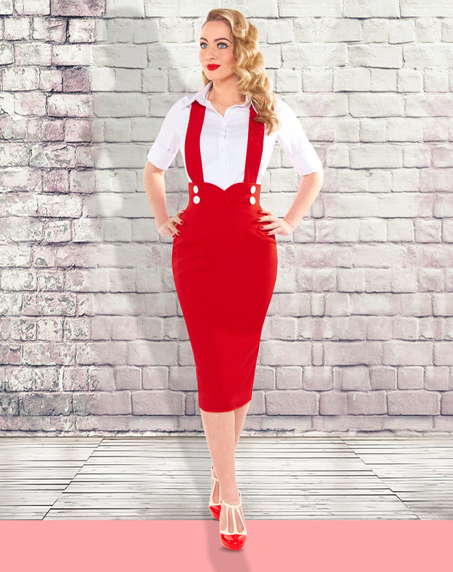 British Retro - 50s style skirts, unique retro clothing, vintage fashion, pencil skirts, swing skirts
