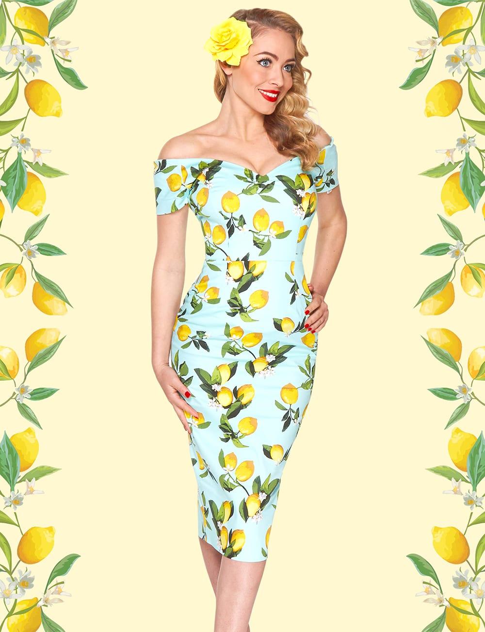 Britsh Retro - wiggle dresses, 50s pencil dresses, vintage inspired clothing, pencil dresses, Bodycon dresses