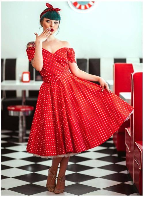 827f51545df4c Buy 1950's Full Circle Dresses Online - British Retro