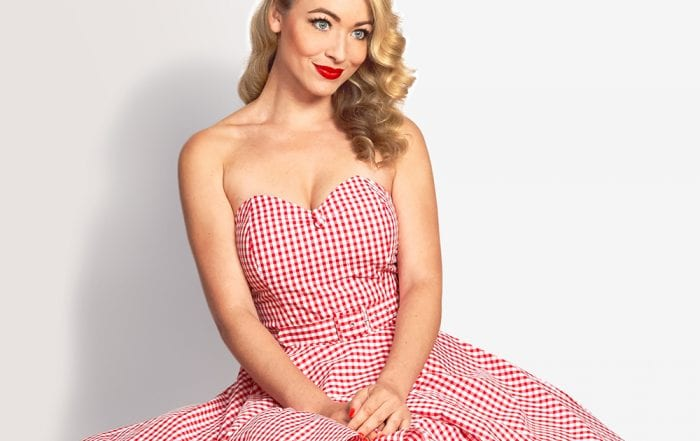 Britsh Retro Vintage Swing Dress