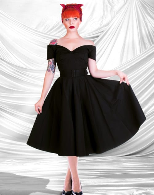 British Retro - swing party dresses, swing dresses, 50s dresses, vintage clothing, unique retro clothing
