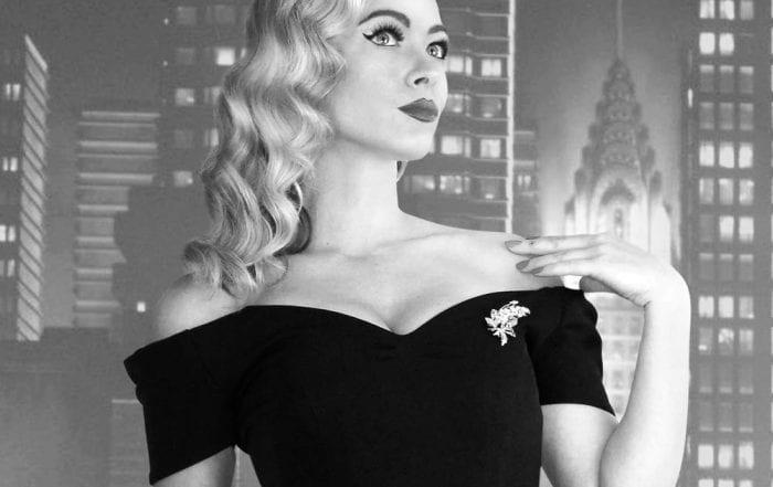Britsh Retro Vintage The Perfect Retro Wiggle dress