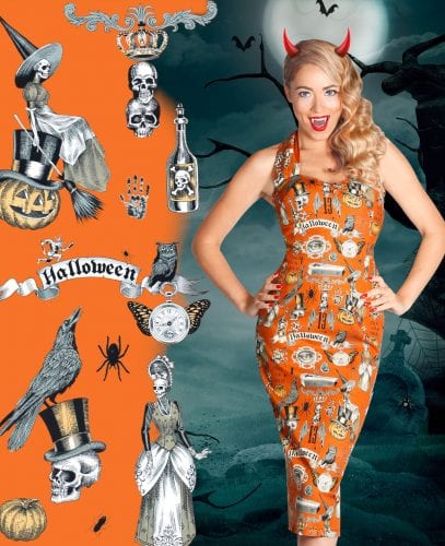 Britsh Retro Vintage Fenella Fielding Halloween - bodycon pencil dresses, bodycon, pencil, dresses