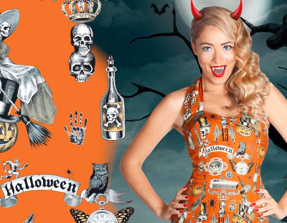 Britsh Retro Vintage Fenella Fielding Halloween