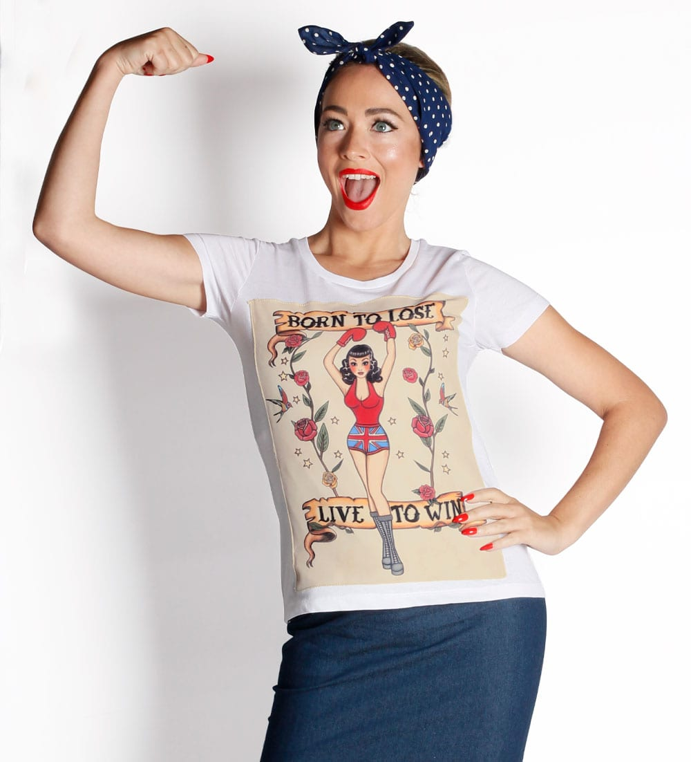 British Retro - 50s tshirts, vintage-inspired t-shirts, vintage inspired clothing