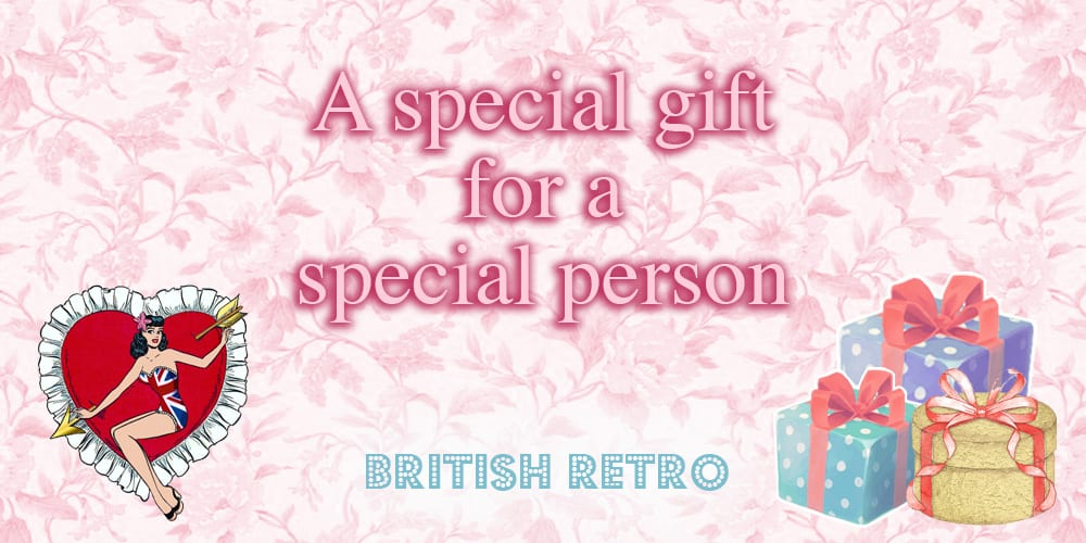 British Retro Special Gift Voucher For A Special Person