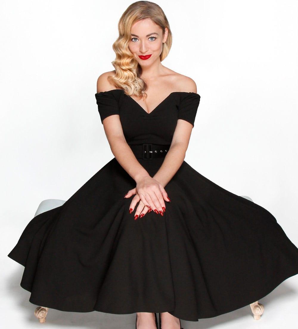 British Retro vintage dresses - dee dee dress, full circle dress, british retro dress, dee dress, 1950s dresses