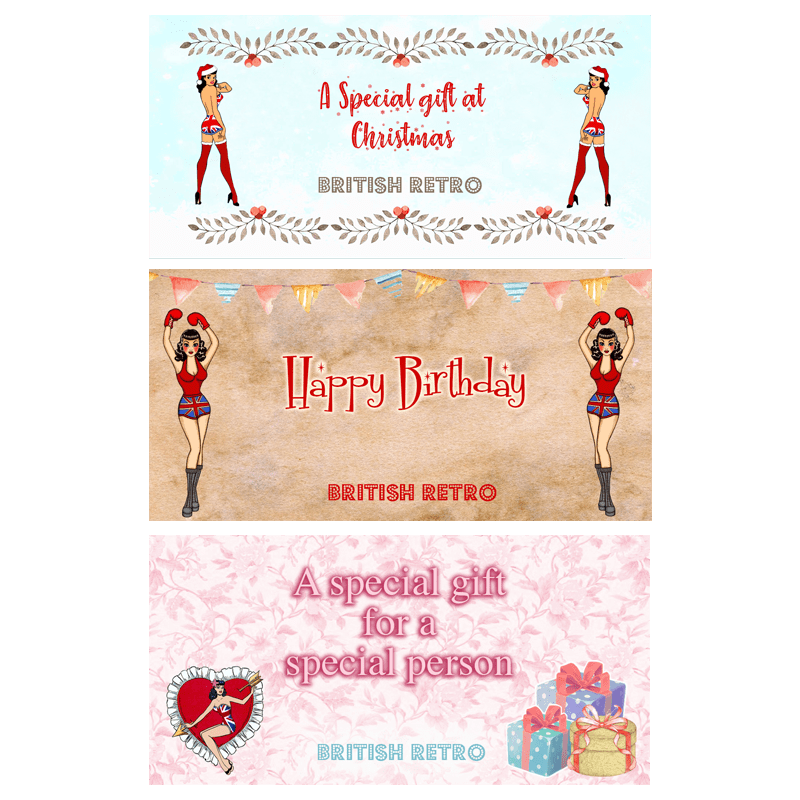 British Retro EGift Cards