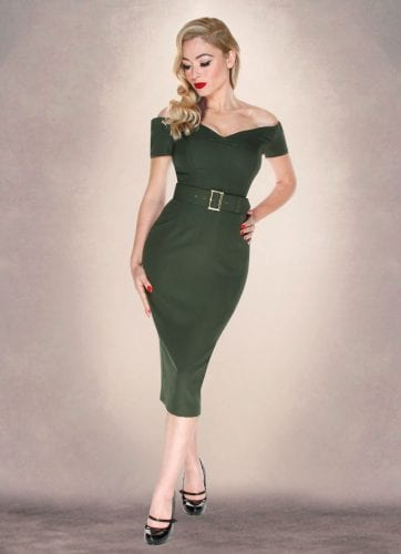 Britsh Retro Vintage Clothing - bodycon dresses, vintage style, 50s style, fitted dress, pencil dress