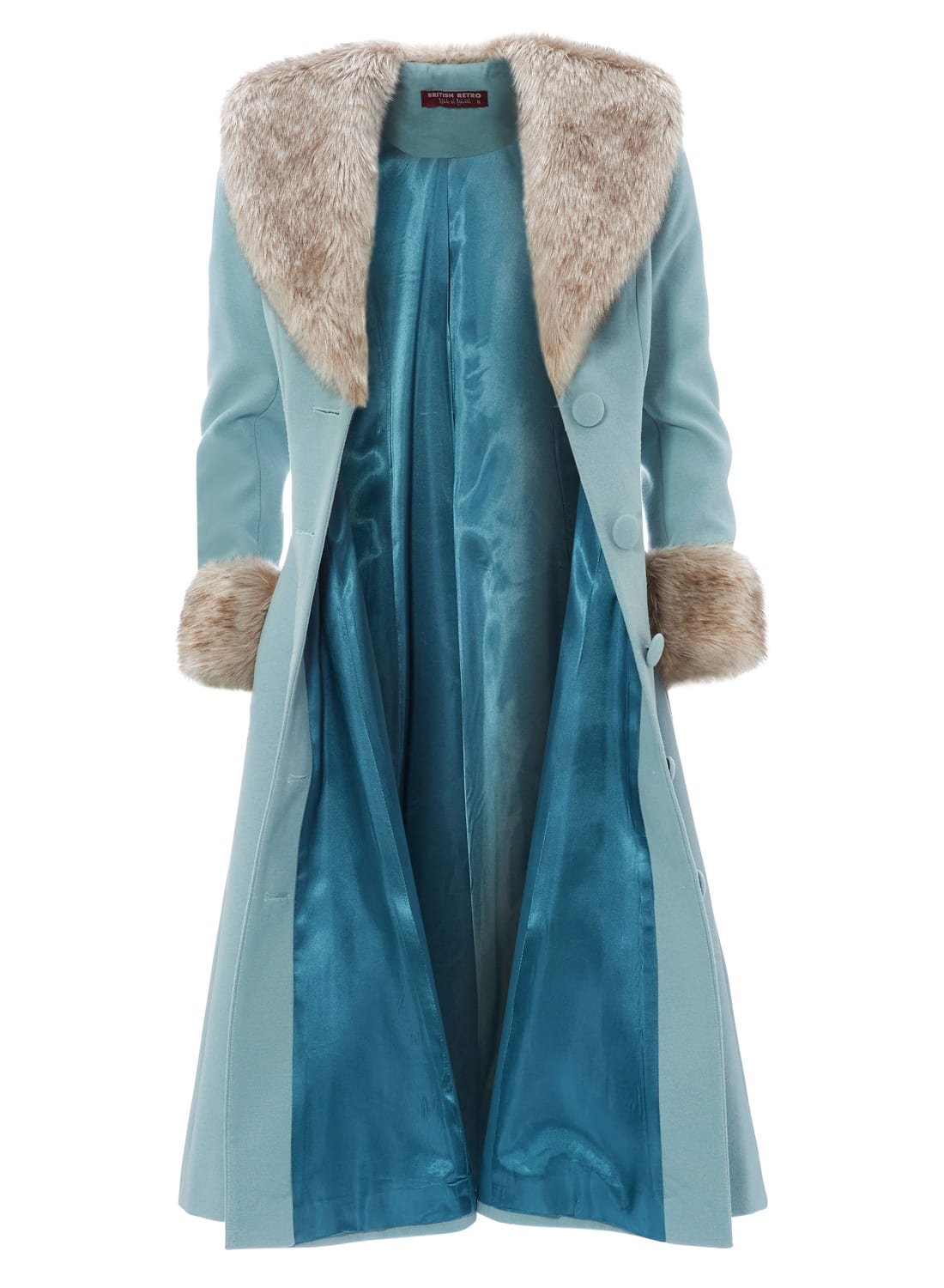 Wonderland Coat Winter Ice Blue Made in