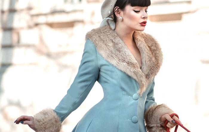 British Retro Vintage Fashion - Wonderland Warmth