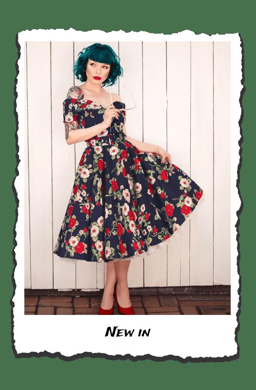 British Retro - vintage inspired clothing, unique retro clothing, retro dresses, vintage dresses, retro clothing