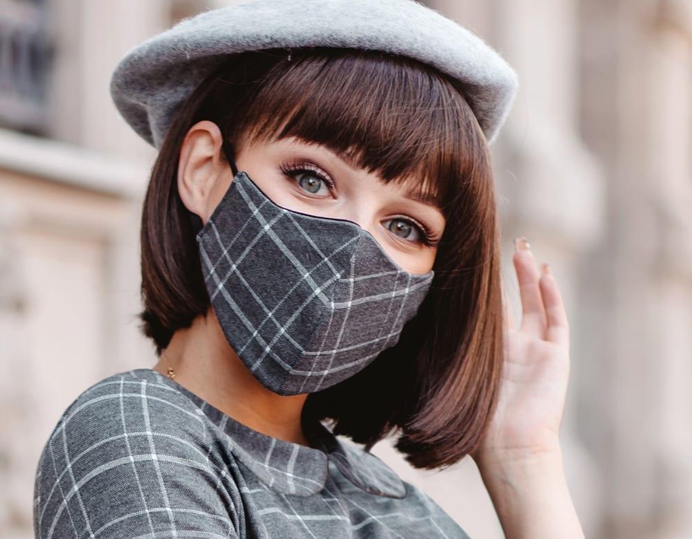 Wear a mask? Make it marvellous, darling!